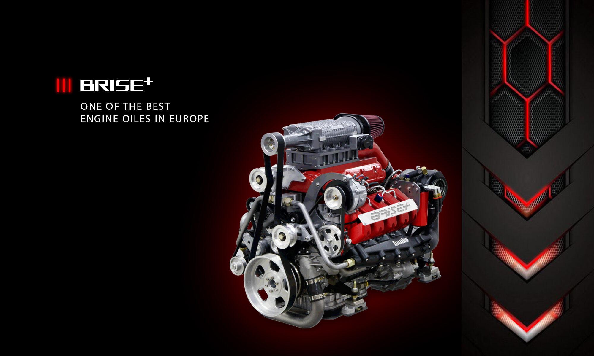BRISE PLUS & RED ENGINE OIL